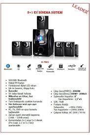 SES SİSTEMİ LEADER H7901 8697131079238