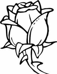 rose coloring pages with a big variety of styles to color in with pastels paints or crayons