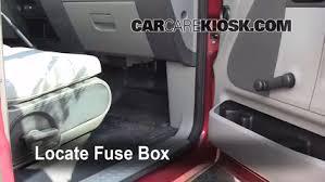 interior fuse box location ford f ford f  interior fuse box location 2004 2008 ford f 150