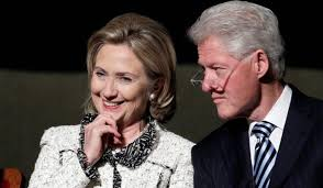Image result for bill and hillary clipart