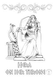 A young and smiling greek citizen. Greek Mythology Coloring Pages Be Different Baby