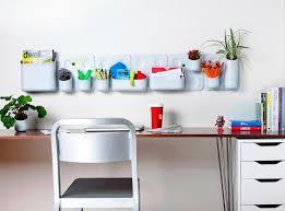 image of decorative wall file organizer