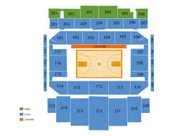 Welsh Ryan Arena Seating Chart And Tickets