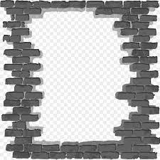 simple black frame png. Brick Wall Wallpaper - Black Simple Frame Png