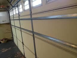 image of garage door reinforcement strut
