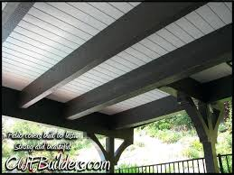 patio beams this covered patio impresses everyone patio beams bunnings