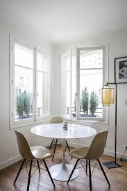 apt furniture small space living. Eames Side Chairs With See-through Bases That Reference The Eiffel Tower Keep Corner Apt Furniture Small Space Living
