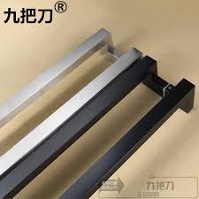 office door handles. Delighful Door Square Tube Double Bend Stainless Steel Glass Door Subblack Handle  Drawing A Box For Office Door Handles M
