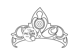 Small Picture crown for girls coloring page printable free