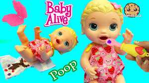 babysitting baby alive super snacks snackin lily feed playdoh babysitting baby alive super snacks snackin lily feed playdoh food poops cookieswirlc video