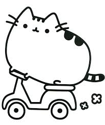 Pusheen Coloring Pages Coloring Pages Pusheen Coloring Pages