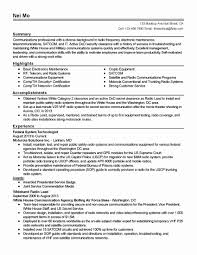security clearance resume example federal government resume template inspirational resume security