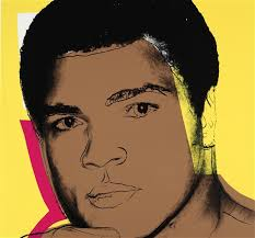 andy warhol ali 1978 from a portfolio of four screenprints on strathmore