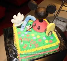 Coolest Mickey Mouse Clubhouse Cake Idea