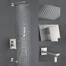 Moen Esnbia Shower System With Tub Spout And 10 Rain Shower Head Shower Faucet Set Ebay Esnbia Shower System With Tub Spout And 10 Rain Shower Head Shower