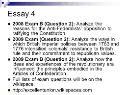 ap history day revolution constitution and a new nation to ppt  66 essay