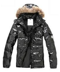 Moncler Down Jackets For Men Rabbit Fur Cap Style Army Black Sale