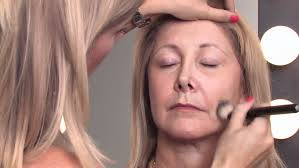 makeup tips for older women how to apply makeup right after 50 to mini the higher you put the make up on the side cheeks toward the side the more it