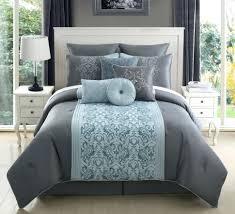 solid gray comforter sets queen twin xl