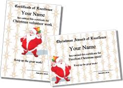 christmas certificates templates printable christmas certificates