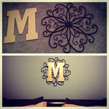6b3c0752fe403b4a3d b011fa monogram wall decorations wall decor with letters