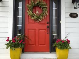 houses with red front doors. Beautiful Houses Boldness Of The Entryway For Houses With Red Front Doors O