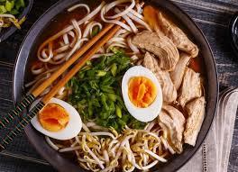 <b>Рамен с курицей</b> | Рецепт | Еда, Суп рамен, Японская еда