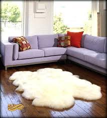 faux sheepskin rug incredible white faux sheepskin rug fur accents sheepskin area rug intended for faux