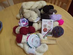 apple yarns. our haul (bought and free) from red apple yarns o