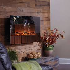 view a larger image of the touchstone mirror onyx 50 inch electric wall mounted fireplace with