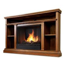 churchill corner vent free gel fueled fireplace and a stand