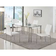 steel dining table set home