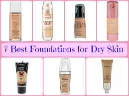 choosing the best foundation for dry skin