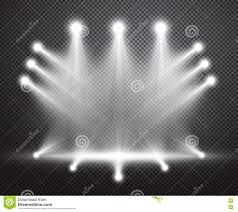 Bright special lighting Salonica Outlet Realistic Stage Lighting Vector Background Group Of Bright Projectors On Checkered Backdrop Special Light Effect With Transparency Batteryuscom Realistic Stage Lighting Vector Background Stock Vector