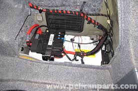 bmw e battery replacement e e e pelican parts diy large image extra large image