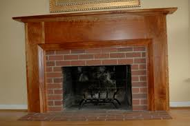 Mantel On Brick Fireplace Building A Fireplace Mantel Over Brick Home Design Ideas