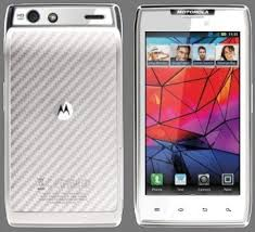motorola droid razr white. verizon to release white motorola droid razr _