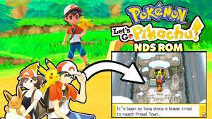 Pokemon Images: Pokemon Lets Go Pikachu Nds Rom Hack Download