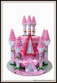 Disney Princesses Castle Cake 4