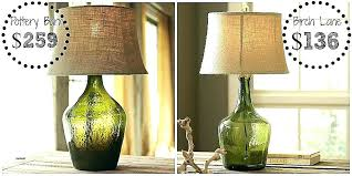 pottery table lamps amazing burlap lamp shades for table lamps elegant table lamps pottery barn kitchen