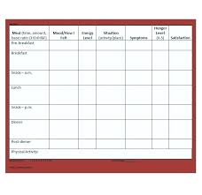 simple food log template sleep journal template images of log monthly baby sleep