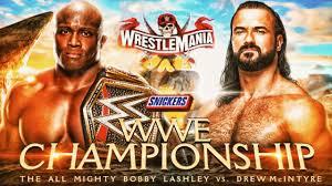 WWE Wrestlemania 37 Official Match Card ...