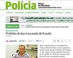 Resultado de imagem para PREFEITO DE IPU PRESO