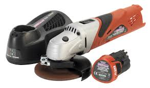 cordless grinder. sealey cp40combo14 cordless lithium-ion angle grinder 12v with battery \u0026 charger