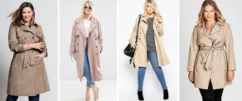 plus size winter coats sara trench coat 149 99 from ezi