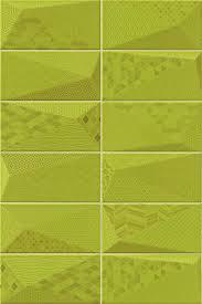 <b>Керамическая плитка Mainzu Fancy</b> Y-Green настенная 10х20 ...