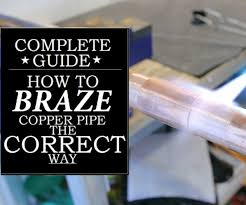 How To Correctly Braze Silver Solder A Copper Pipe 5