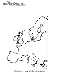 Small Picture Europe Map Coloring Page A Free Travel Coloring Printable
