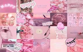 a cute pink laptop wallpaper i made ...