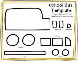 School Bus Template Margarethaydon Com